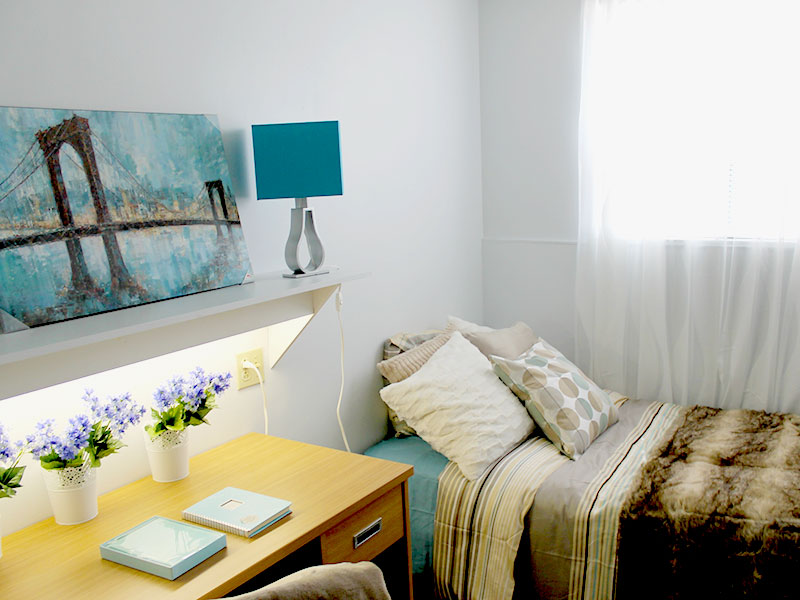 Fully-Furnished Bedroom For Students