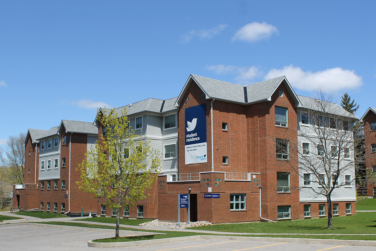 Severn Court Student Residence Building
